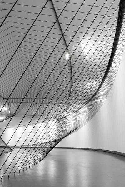 Circundante - Cordón, espejos, argollas  3.24 x 8 x 55 m-  2007  Fotografía Manuel Olarte
