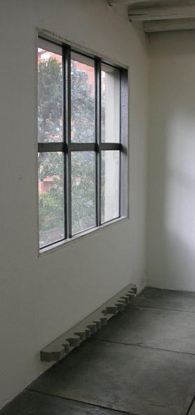 Cortina - Concreto  7 x 181 x 15.3 cm - 2008