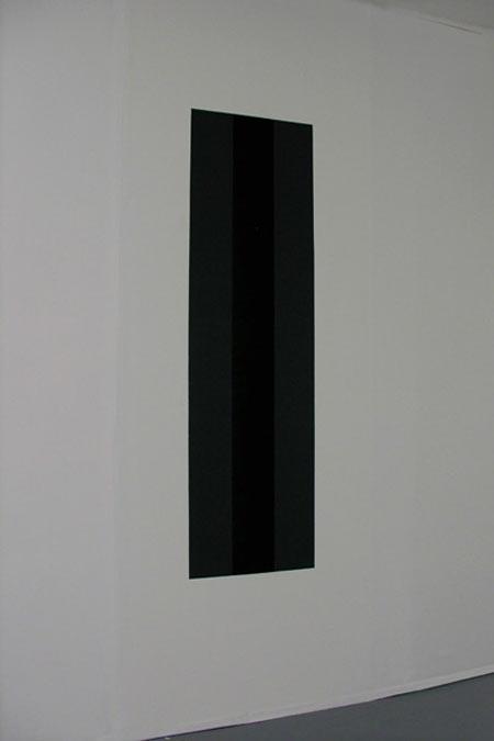 Monocromo - Madera, vinilo  180 x 45 x 92 cm - 2005
