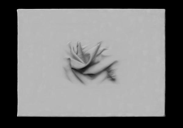 Pliegue central - Impresión sobre papel fotográfico  30 x 50 cm - 2006